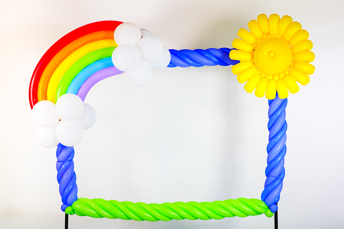 Rainbow Frame | Balloon Extras Shop